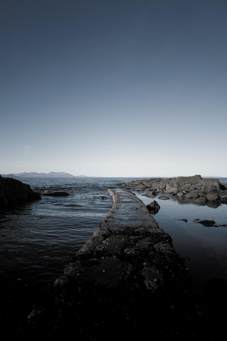 Dunure, Scotland. 22.11.2015 Leica Q 1/5000sec; f/1.7; iso100