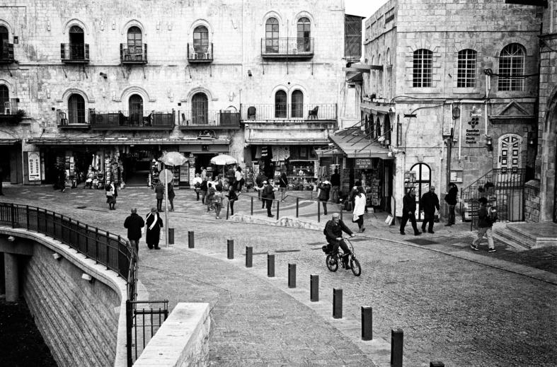 Jerusalem, Israel; 26.02.2014 M7; 50mm Summilux f/1.4 f8 Aperture Priority Kodak Tri-X 400