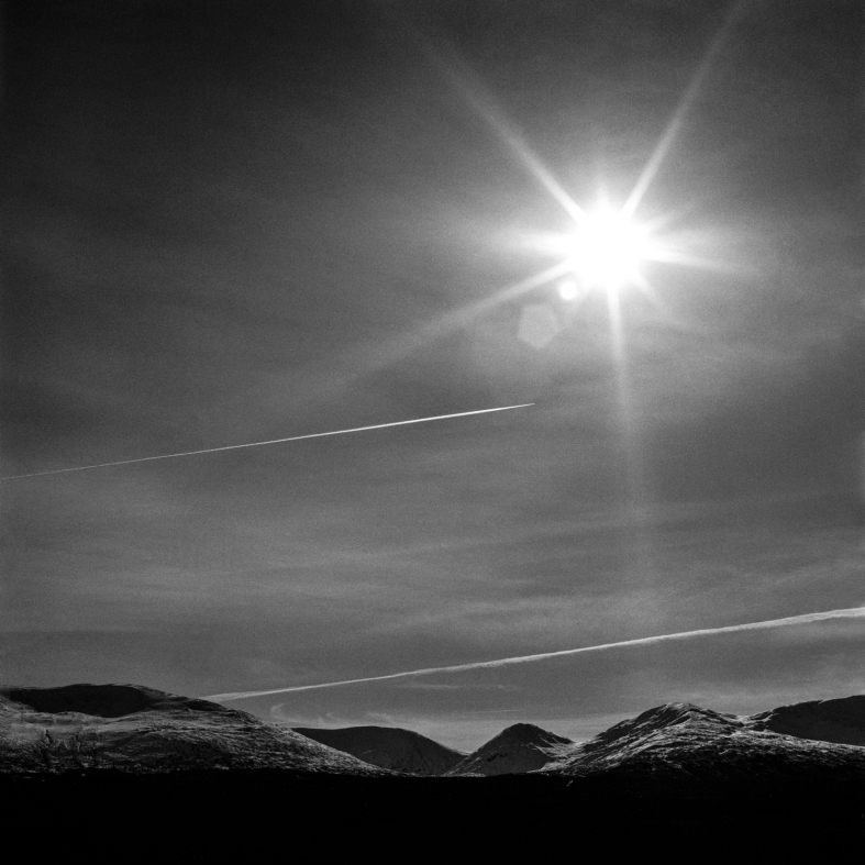 Isle of Skye, Scotland; 28.02.2016 Hasselblad 205tcc; 80mm Planar; Ilford Delta 100