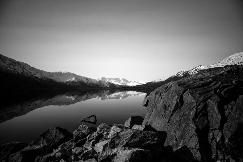 Loch Cluanie, Scotland; 28.02.2016 Leica M Monochrom typ 246; 21mm Zeiss Biogon
