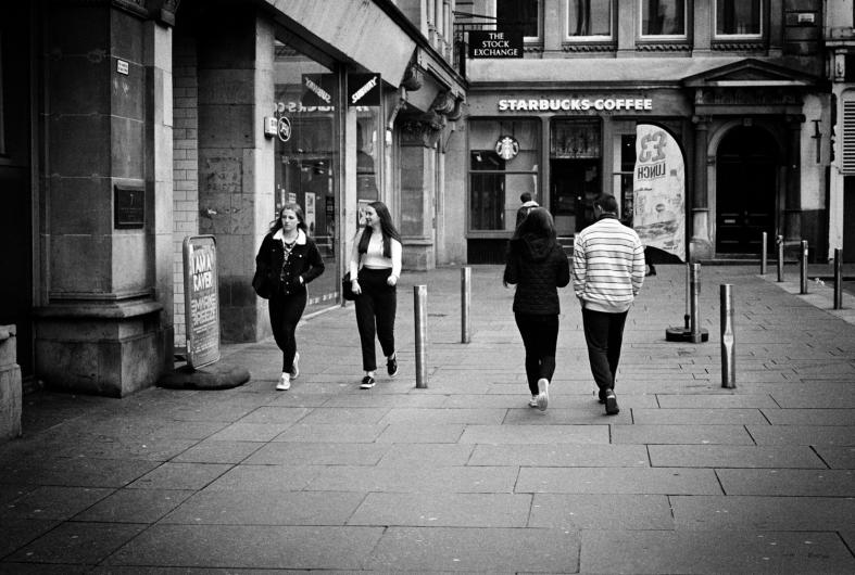 Glasgow; 19.03.201 Leica M7; APO Summicron 50mm; Ilford Delta 400; DDX 1-9