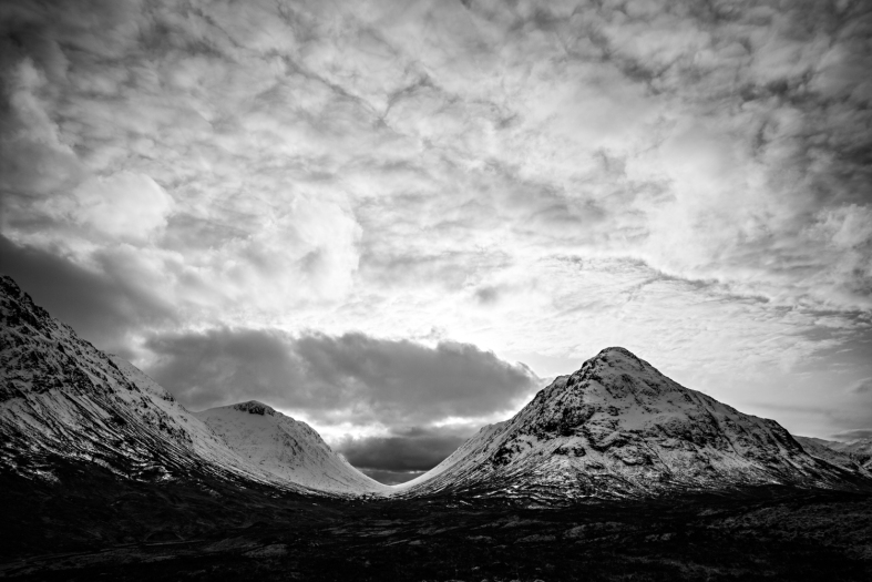 Glencoe, Scotland; 26.02.2016 Leica Monochrom 246, 21mm Zeiss Biogon