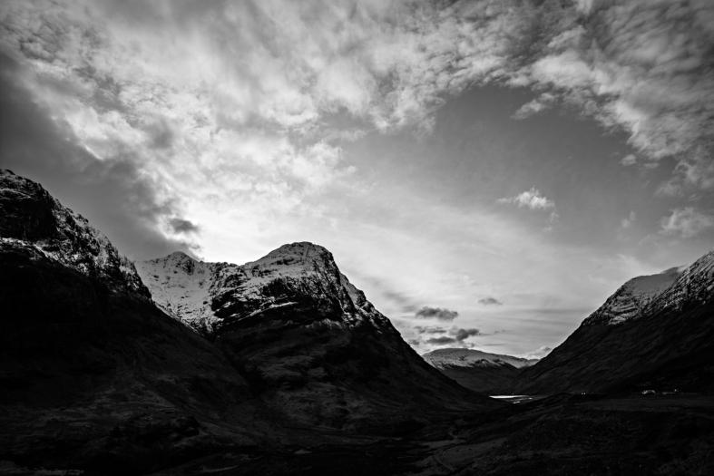 Glencoe, Scotland; 26.02.2016 Leica M Monochrom 246; 21mm Zeiss Biogon