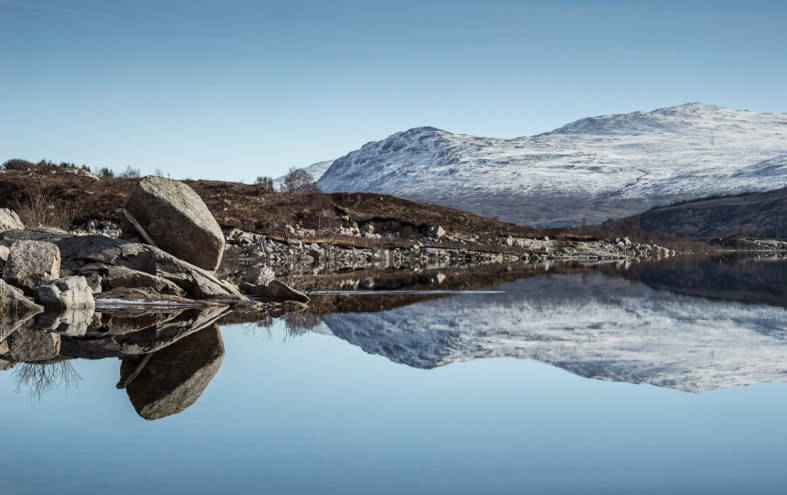 Loch Cluanie, Scotland; 28.02.2016 Leica S 006; 100mm Summicron S