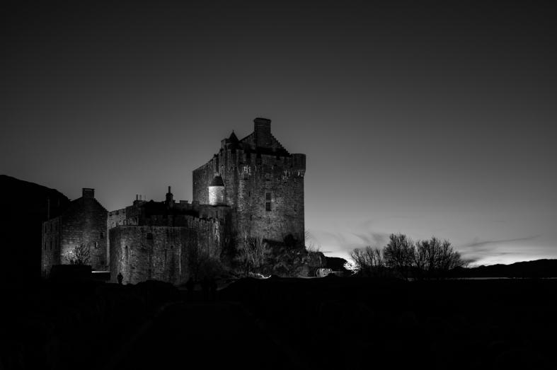 Eilean Donan, Scotland; 27.02.2016 Leica S 006; 45mm Elmarit-S