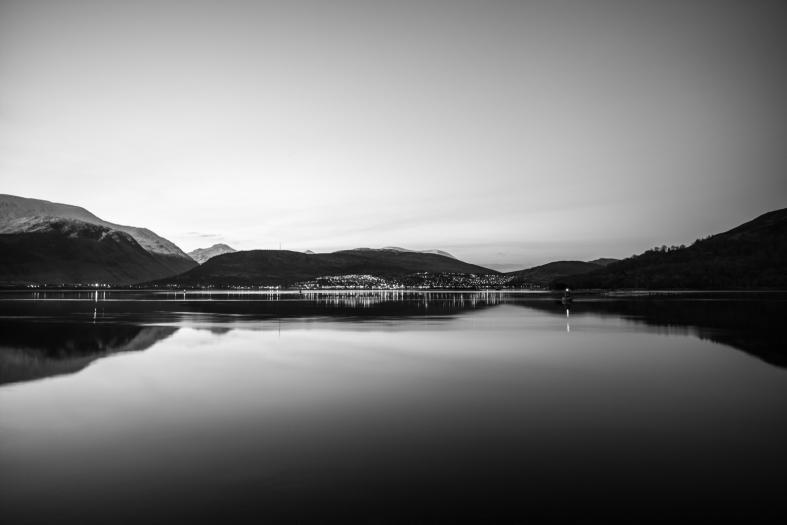 Corpach Sea Loch, Scotland; 26.02.2016 Leica S 006; 45mm Elmarit-S