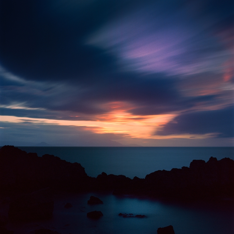 Dunure, Scotland. 19.06.2016 Hasselblad 205TCC; 80mm Planar; Ektar; 8 min exposure