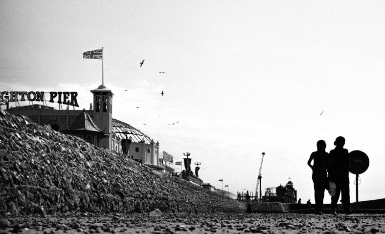 Brighton, England. 28.08.2016 Leica M3; 50mm APO Summicron; Ilford XP2; Rodinal