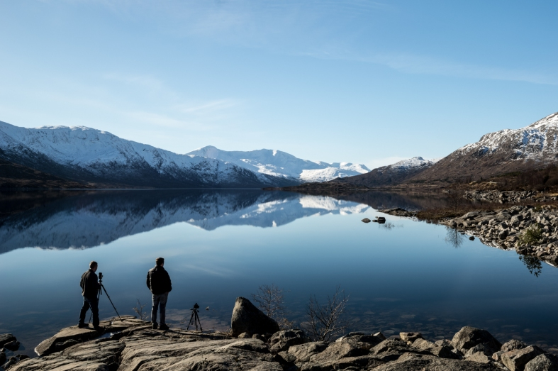 Loch Cluanie, Scotland; 28.02.2016 Leica S 006; 45mm Elmarit S
