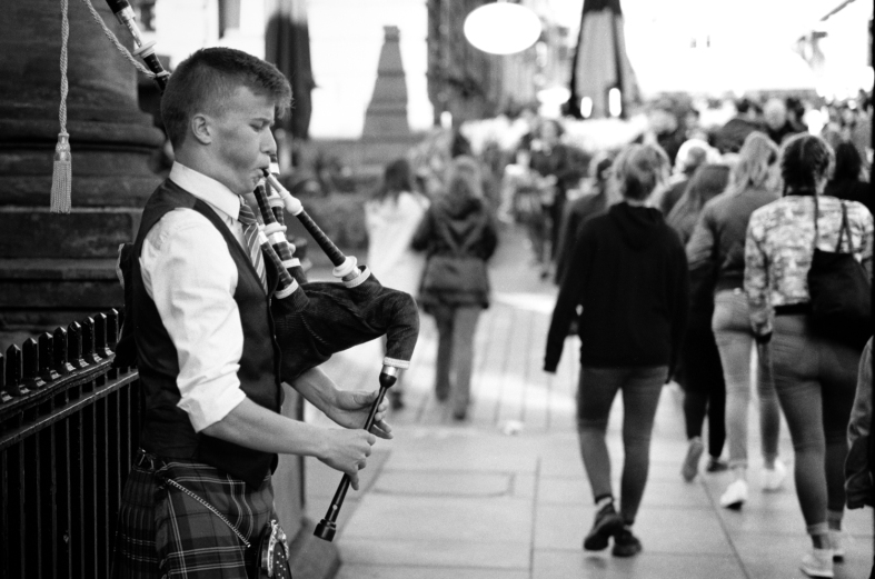 Glasgow. 01.10.2016 Leica M7; 50mm APO Summicron; Fuji Neopan 100; HC110