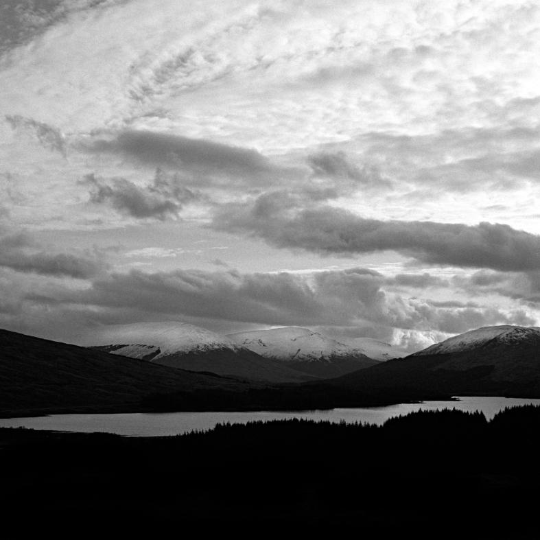 Glencoe, Scotland; 26.02.2016 Hasselblad 205tcc, Zeiss 80mm Planar, Ilford Pan F 50+