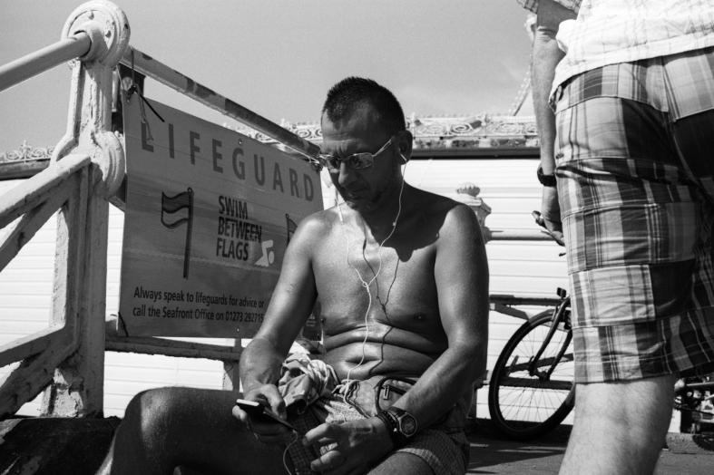 Brighton, England. 28.08.2016 Leica M7; 50mm APO Summicron; Ilford XP2