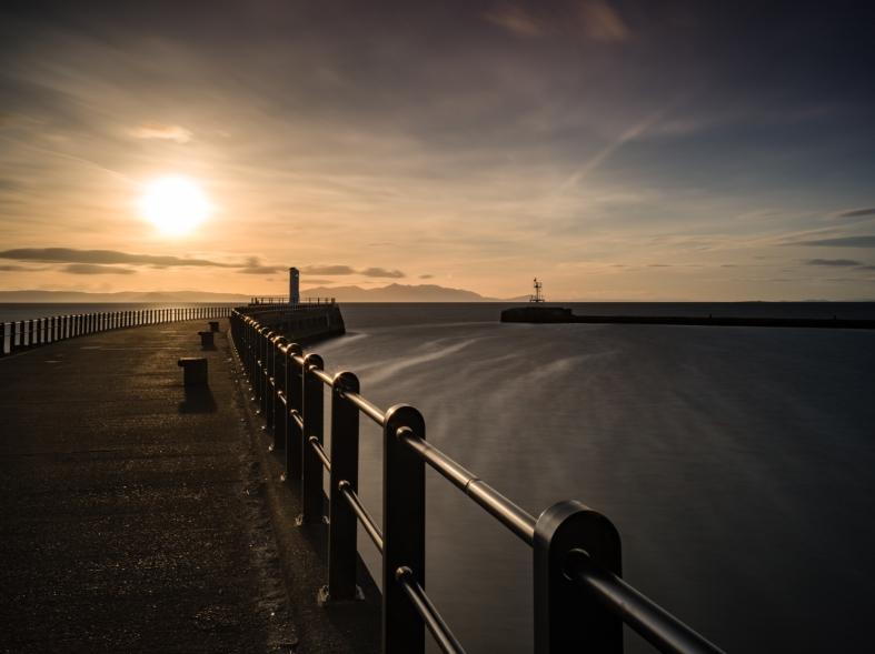 Sunset on Ayr Harbour-2.jpg
